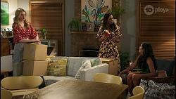 Mackenzie Hargreaves, Dipi Rebecchi, Yashvi Rebecchi in Neighbours Episode 8588