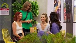 Nicolette Stone, Jane Harris, Chloe Brennan, Dipi Rebecchi in Neighbours Episode 8588