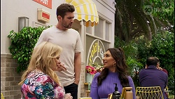 Sheila Canning, Ned Willis, Dipi Rebecchi in Neighbours Episode 8588