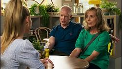 Chloe Brennan, Clive Gibbons, Jane Harris in Neighbours Episode 8588