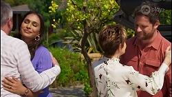 Karl Kennedy, Dipi Rebecchi, Susan Kennedy, Shane Rebecchi in Neighbours Episode 8589