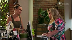 Bea Nilsson, Sheila Canning in Neighbours Episode 8589