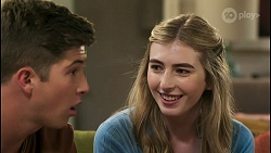 Hendrix Greyson, Mackenzie Hargreaves in Neighbours Episode 8589
