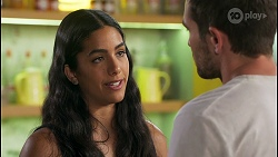 Yashvi Rebecchi, Ned Willis in Neighbours Episode 8589