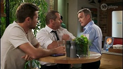 Ned Willis, Toadie Rebecchi, Paul Robinson in Neighbours Episode 8590