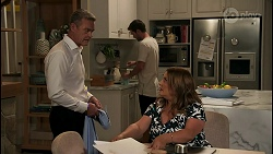 Paul Robinson, Ned Willis, Terese Willis in Neighbours Episode 8590