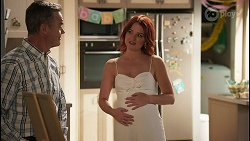Paul Robinson, Nicolette Stone in Neighbours Episode 8591