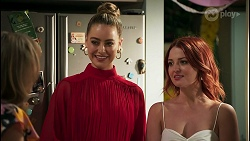 Jane Harris, Chloe Brennan, Nicolette Stone in Neighbours Episode 8591