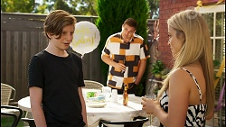 Emmett Donaldson, Kyle Canning, Roxy Willis in Neighbours Episode 8591