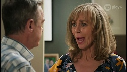 Paul Robinson, Jane Harris in Neighbours Episode 8591