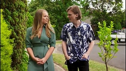 Harlow Robinson, Brent Colefax in Neighbours Episode 8591