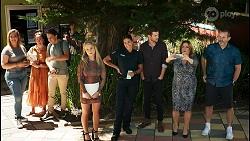 Roxy Willis, Yashvi Rebecchi, Ned Willis, Terese Willis, Toadie Rebecchi in Neighbours Episode 8592