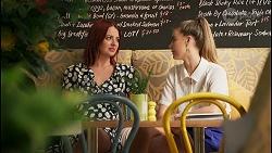 Nicolette Stone, Chloe Brennan in Neighbours Episode 8592