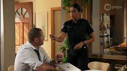 Toadie Rebecchi, Yashvi Rebecchi in Neighbours Episode 8597