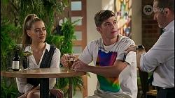 Chloe Brennan, Hendrix Greyson, Toadie Rebecchi in Neighbours Episode 8597