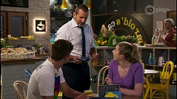 Hendrix Greyson, Toadie Rebecchi, Mackenzie Hargreaves in Neighbours Episode 8597