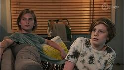 Brent Colefax, Emmett Donaldson in Neighbours Episode 8598