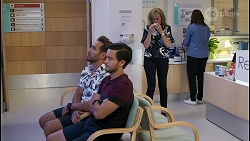 Aaron Brennan, David Tanaka, Jane Harris in Neighbours Episode 8598