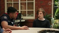 Levi Canning, Emmett Donaldson in Neighbours Episode 8599