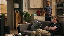 Aaron Brennan, Emmett Donaldson in Neighbours Episode 8599