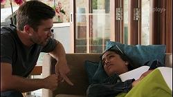 Ned Willis, Yashvi Rebecchi in Neighbours Episode 8600
