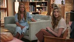 Harlow Robinson, Mackenzie Hargreaves in Neighbours Episode 8600