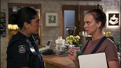 Yashvi Rebecchi, Bea Nilsson in Neighbours Episode 8602