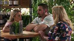 Roxy Willis, Kyle Canning, Sheila Canning in Neighbours Episode 8602