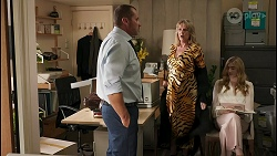 Toadie Rebecchi, Melanie Pearson, Mackenzie Hargreaves in Neighbours Episode 8602