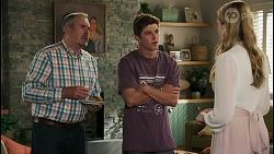 Karl Kennedy, Hendrix Greyson, Mackenzie Hargreaves in Neighbours Episode 8602