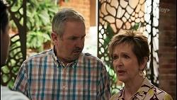 David Tanaka, Karl Kennedy, Susan Kennedy in Neighbours Episode 8603