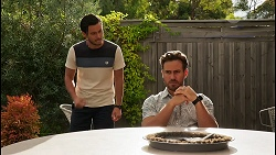 David Tanaka, Aaron Brennan in Neighbours Episode 8604