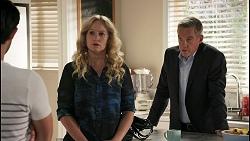 David Tanaka, Jenna Donaldson, Paul Robinson in Neighbours Episode 8605