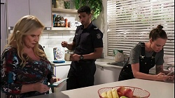 Sheila Canning, Levi Canning, Bea Nilsson in Neighbours Episode 8605