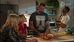 Sheila Canning, Roxy Willis, Kyle Canning, Levi Canning in Neighbours Episode 8606