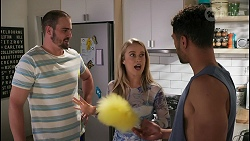 Kyle Canning, Roxy Willis, Levi Canning in Neighbours Episode 8606
