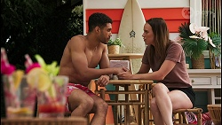 Levi Canning, Bea Nilsson in Neighbours Episode 8606