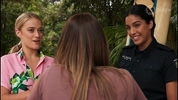 Roxy Willis, Bea Nilsson, Yashvi Rebecchi in Neighbours Episode 8607