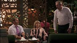 Toadie Rebecchi, Melanie Pearson, Karl Kennedy in Neighbours Episode 8608