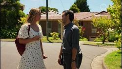 Harlow Robinson, David Tanaka in Neighbours Episode 8608