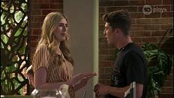 Mackenzie Hargreaves, Hendrix Greyson in Neighbours Episode 8608