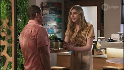 Toadie Rebecchi, Mackenzie Hargreaves in Neighbours Episode 8609