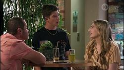 Toadie Rebecchi, Hendrix Greyson, Mackenzie Hargreaves in Neighbours Episode 8609
