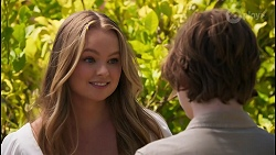 Harlow Robinson, Emmett Donaldson in Neighbours Episode 8609