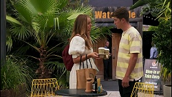 Harlow Robinson, Hendrix Greyson in Neighbours Episode 8610