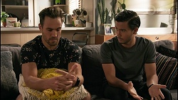 Aaron Brennan, David Tanaka in Neighbours Episode 8610