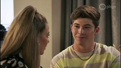 Chloe Brennan, Hendrix Greyson in Neighbours Episode 8610