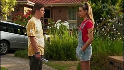 Hendrix Greyson, Chloe Brennan in Neighbours Episode 8611