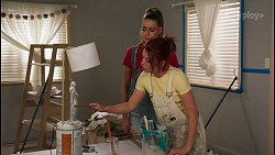Chloe Brennan, Nicolette Stone in Neighbours Episode 8611