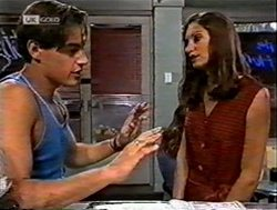 Rick Alessi, Sally Pritchard in Neighbours Episode 2131